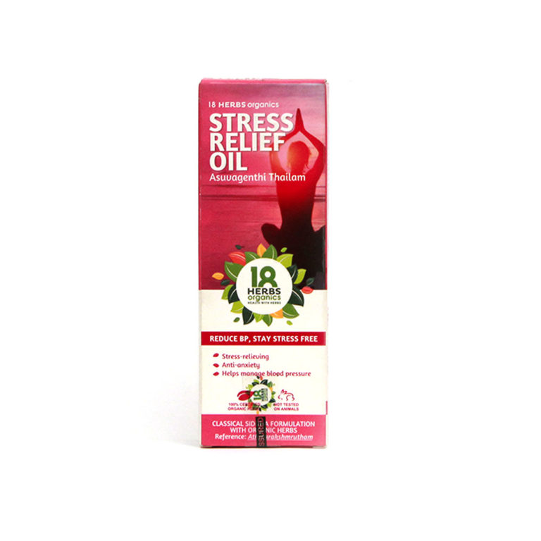 18 HERBS STRESS RELIEF OIL