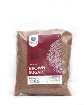 DHATU ORGANIC BROWN SUGAR