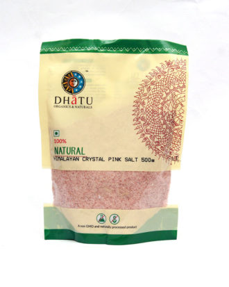 DHATU ORGANIC HIMALAYAN CRYSTAL PINK SALT