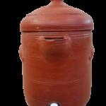 Mud Fridge / Jar - Natural - Traditional