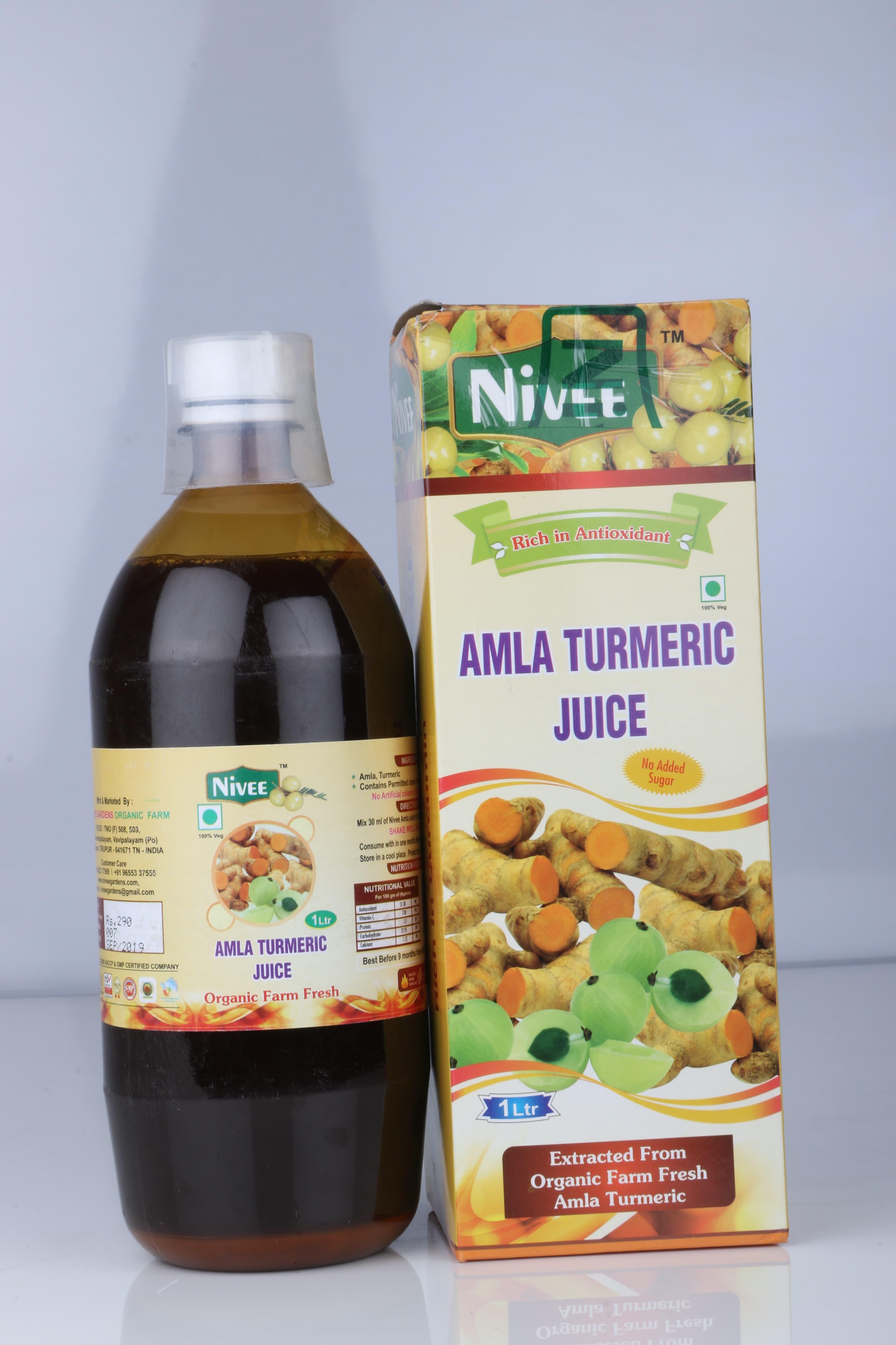 NIVEE AMLA TURMERIC 1LTS