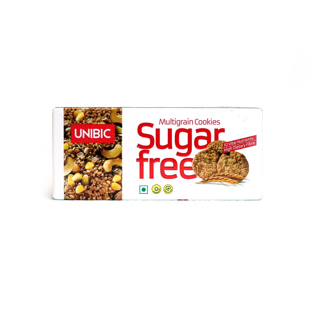 UNIBIC SugarFree Multigrain Cookies 75 grams
