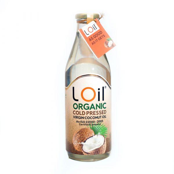 Organic Virgin Cold Pressed Coconut Oil 500 ml