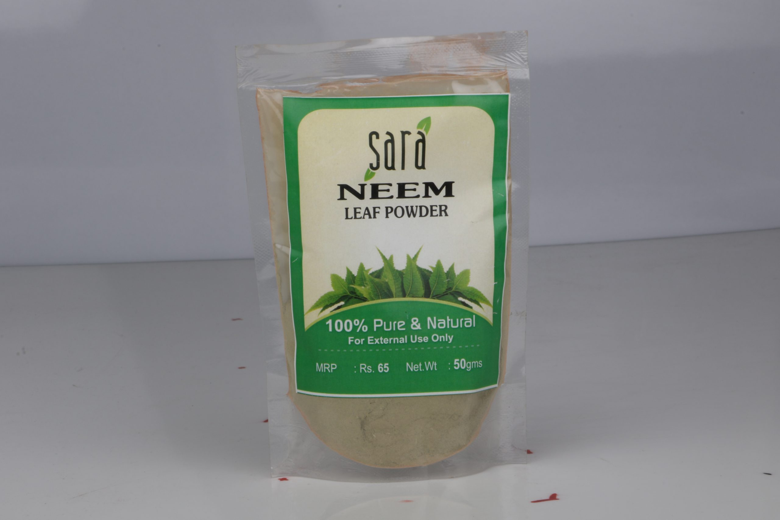 SARA NEEM LEAF POWDER 50GM