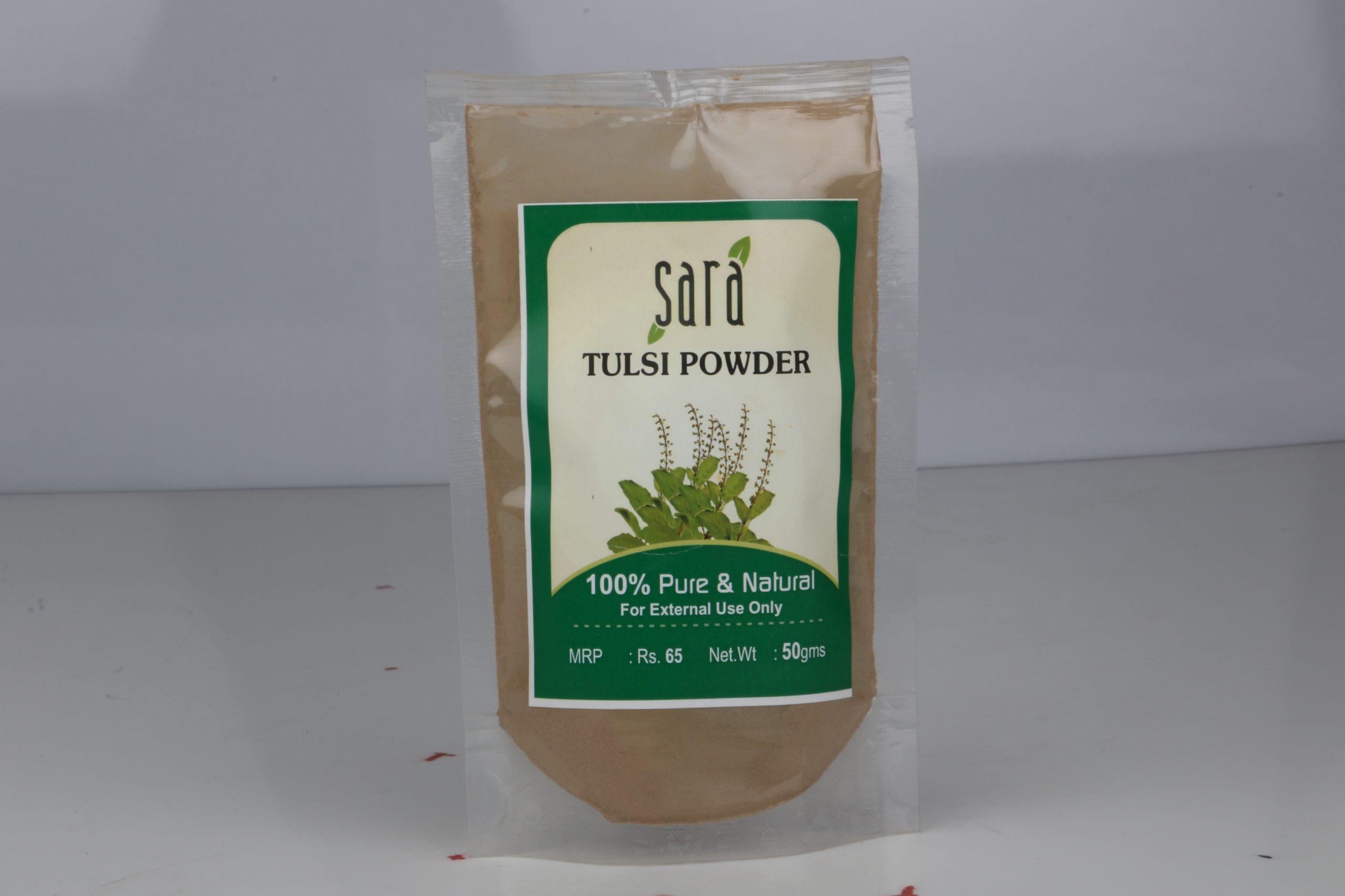 SARA TULSI POWDER 50GM