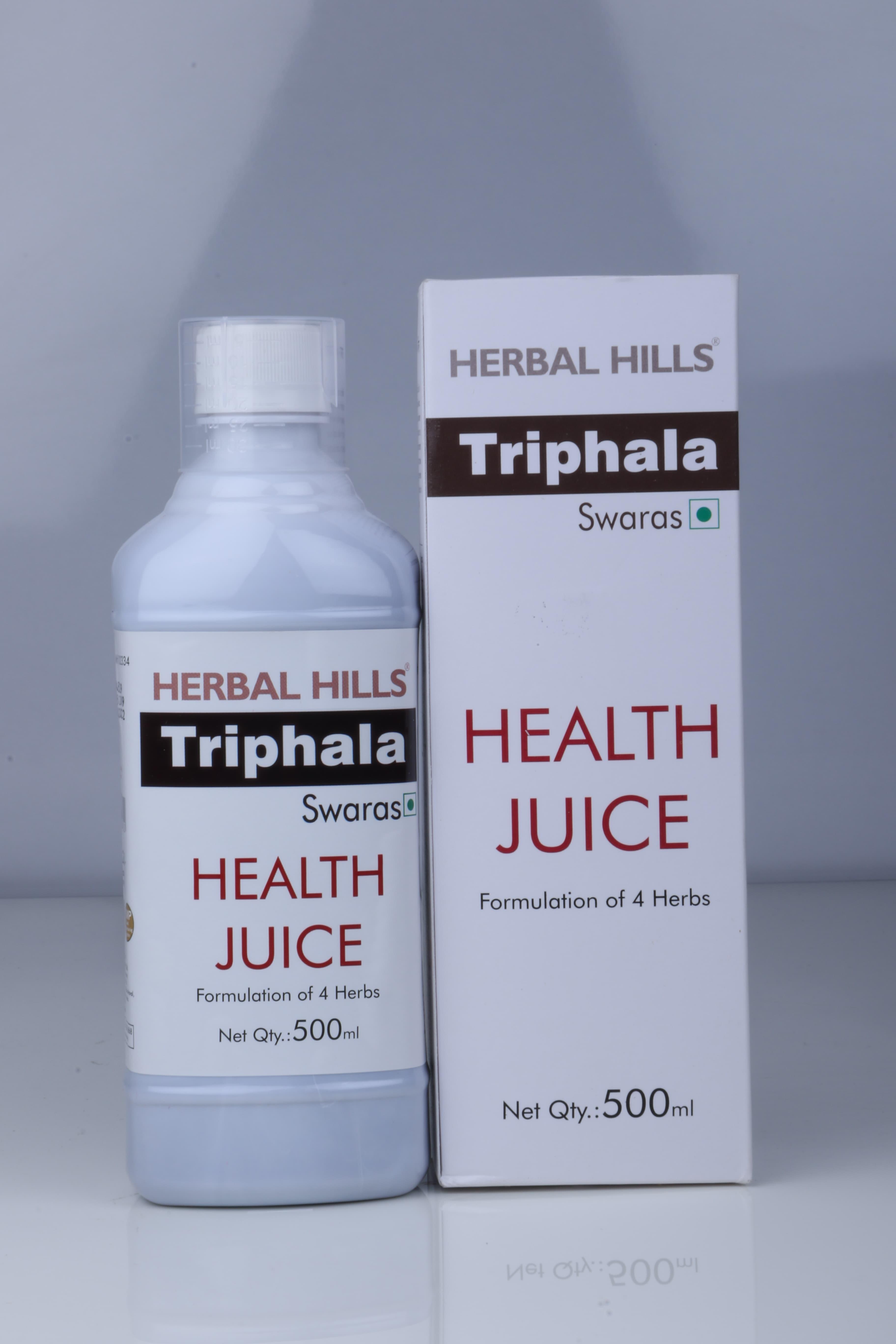 HERBAL HILLS TRIPHALA JUICE 500M
