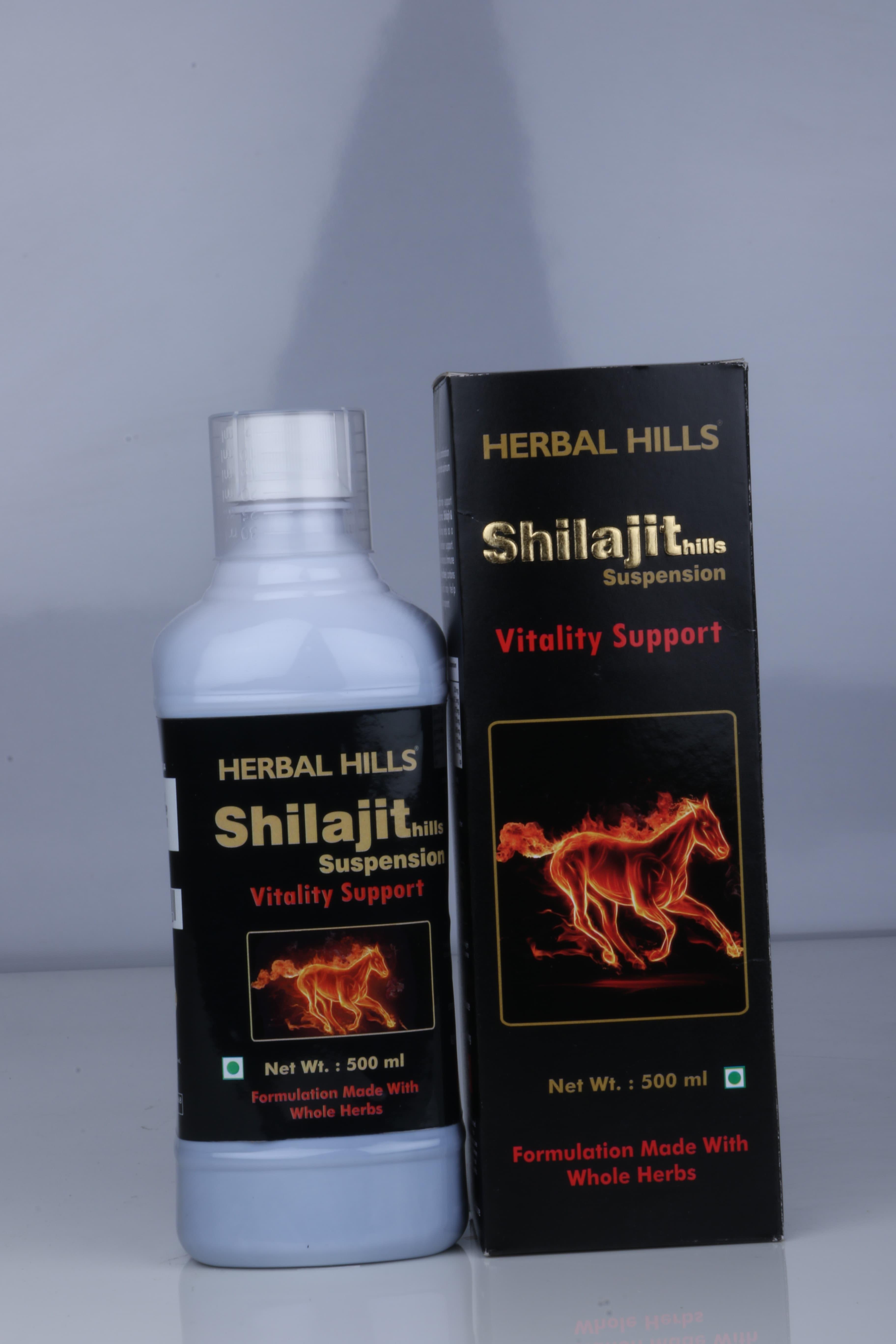 HERBAL HILLS SHILAJIT SYRUP 500ML