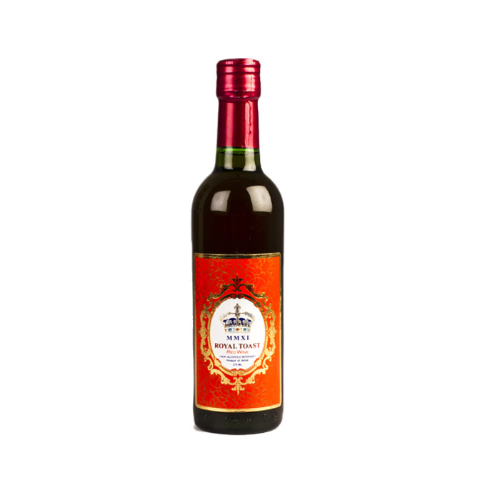 Royal Toast Red Wine - non alcoholic 375 ml