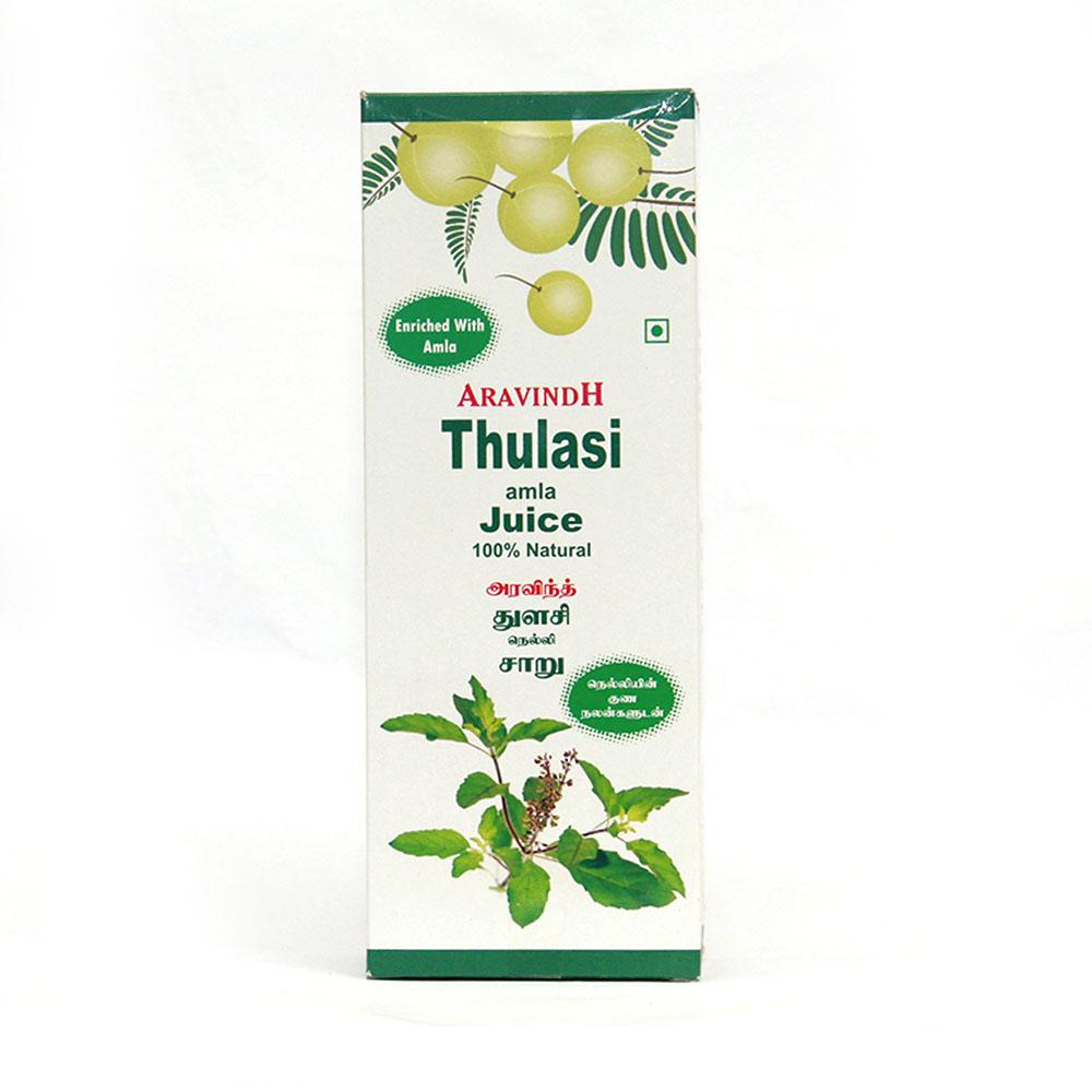 ARAVINDH THULASI AMLA JUICE - 500 ml