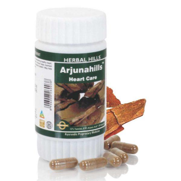 Herbal Hills Arjuna Capsules