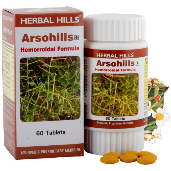 Herbal Hills Arsohills tablets
