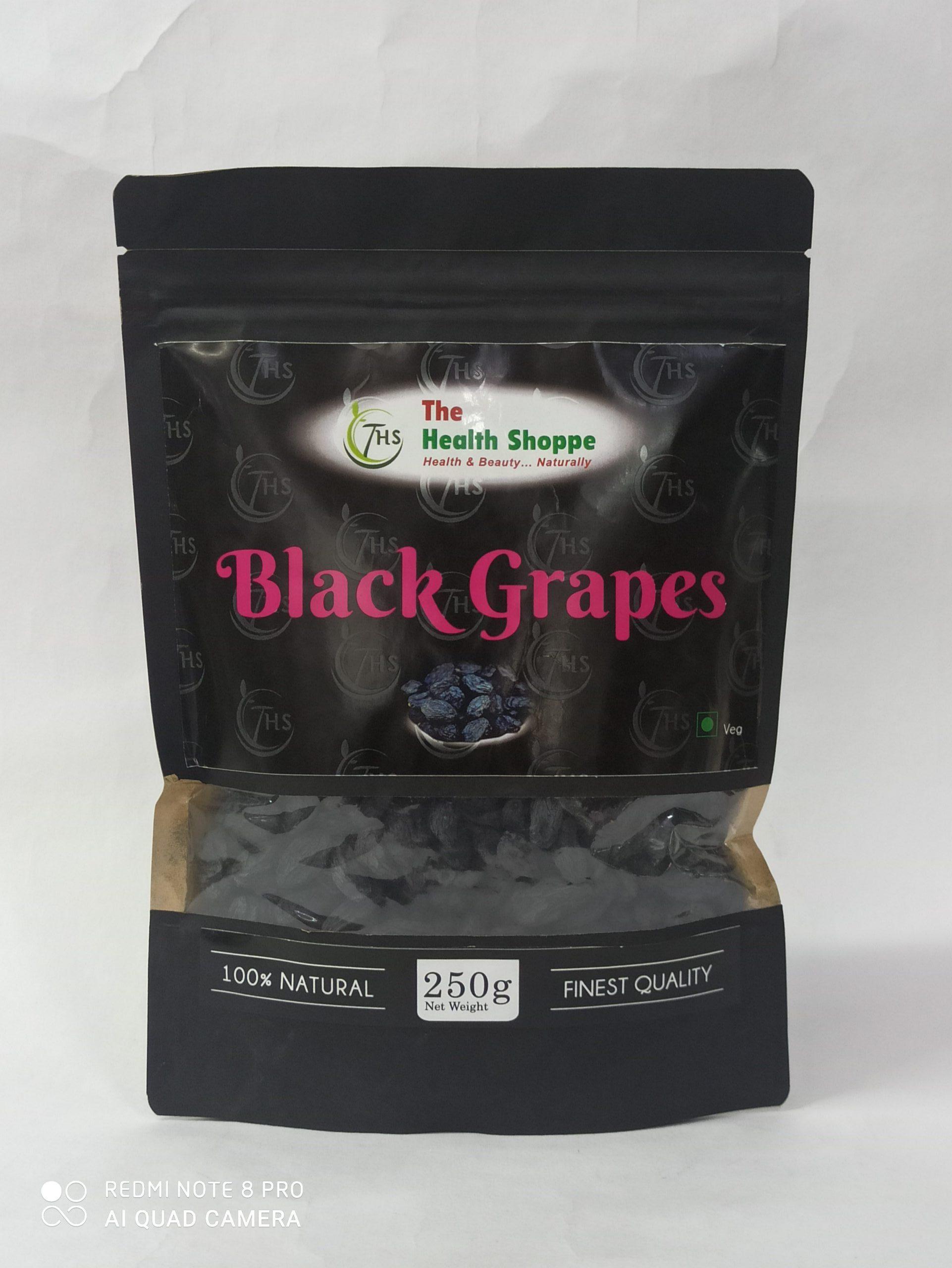"""THS""BLACK GRAPES 250GM"