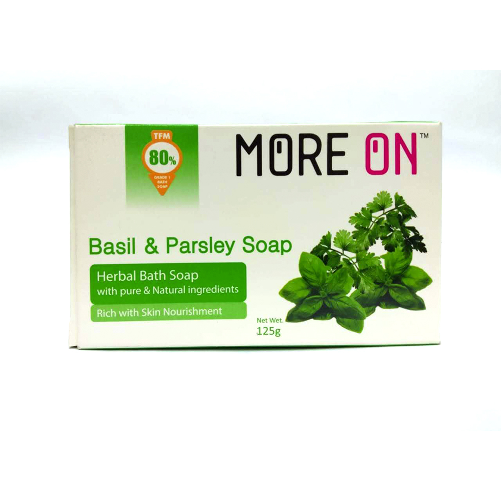 More On Basil & Parsley Soap
