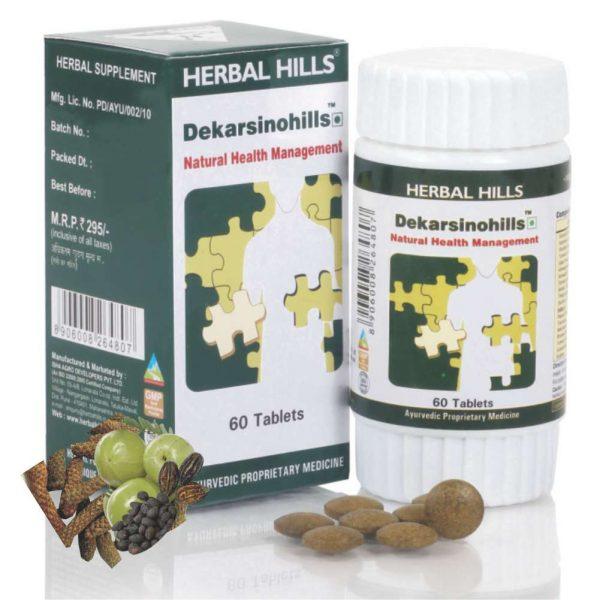 Herbal Hills Dekarsinohills Tablets