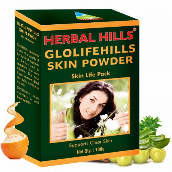 Herbal Hills Glolifehills Skin Powder