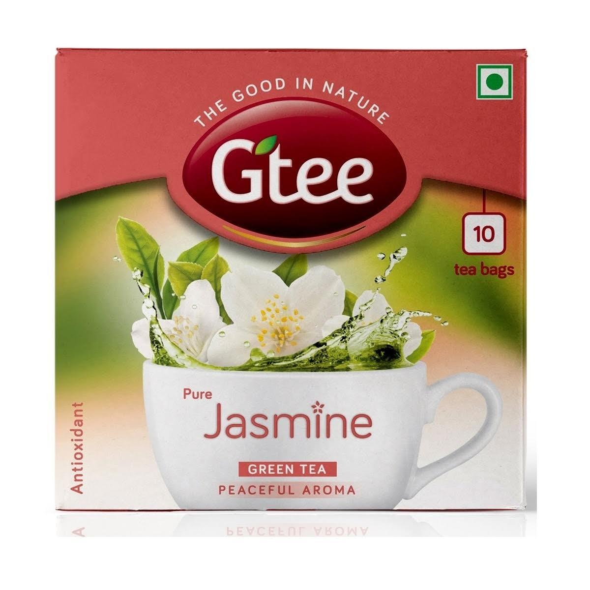 Gtee Jasmine With Green Tea