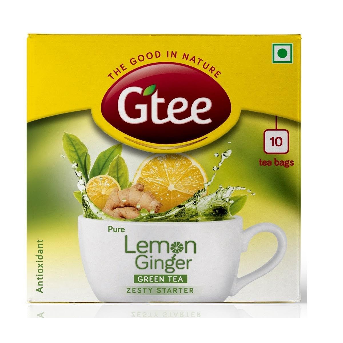 Gtee Lemon Ginger Tea