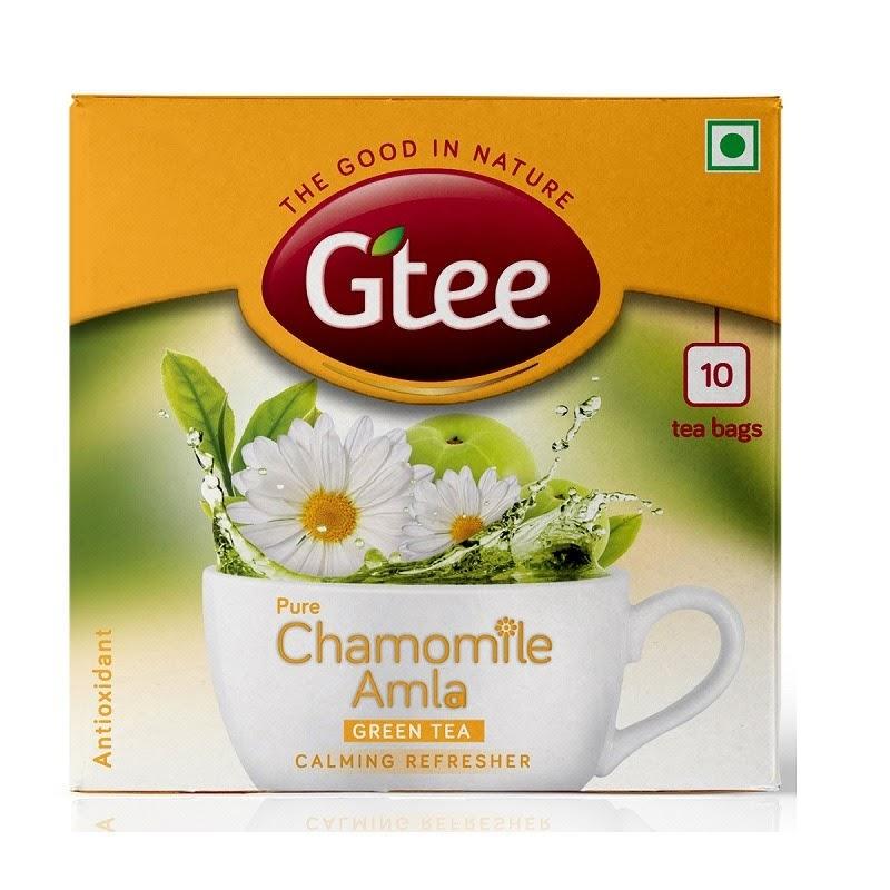 Gtee Green Tea Chamomile Amla