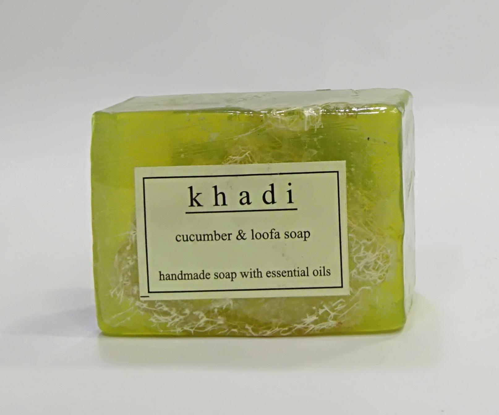 Khadi Handmade Cucumber Soap