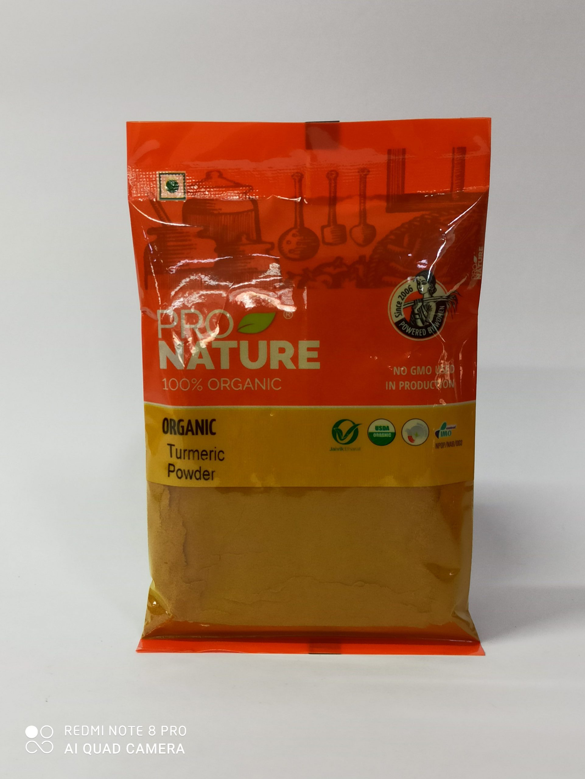 PRO NATURE TURMERIC POWDER 100GM