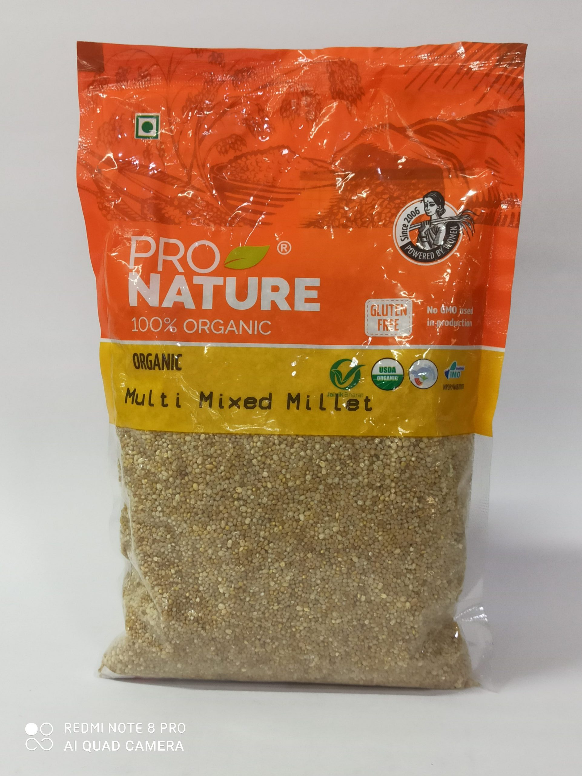 PRO NATURE MULTI MIXED MILLET 500GM