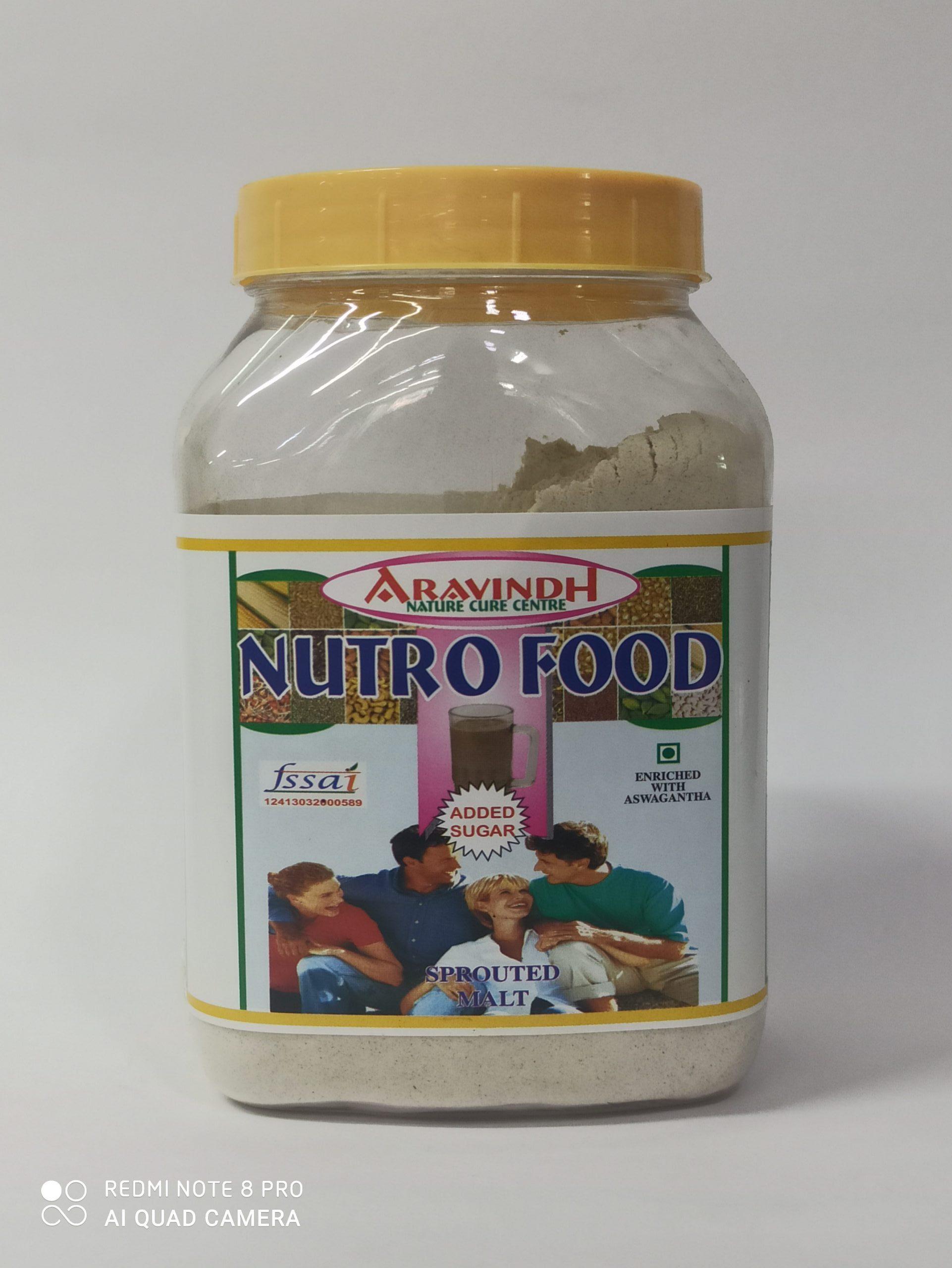 ARAVINDH NUTRO FOOD ADDED SUGAR 500GM