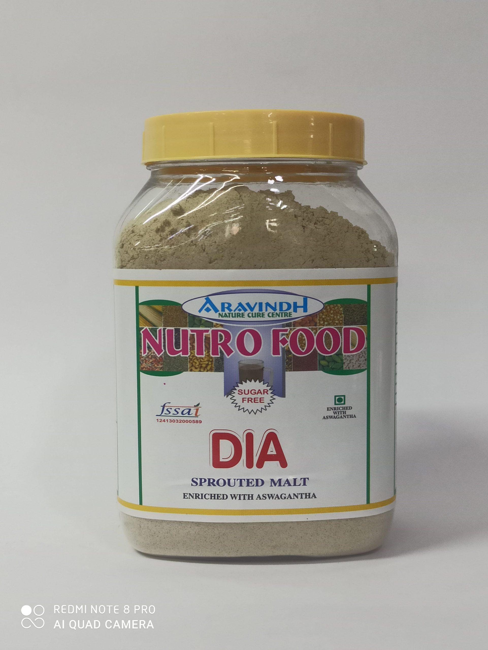 ARAVINDH NUTRO FOOD SUGAR FREE DAI 500GM