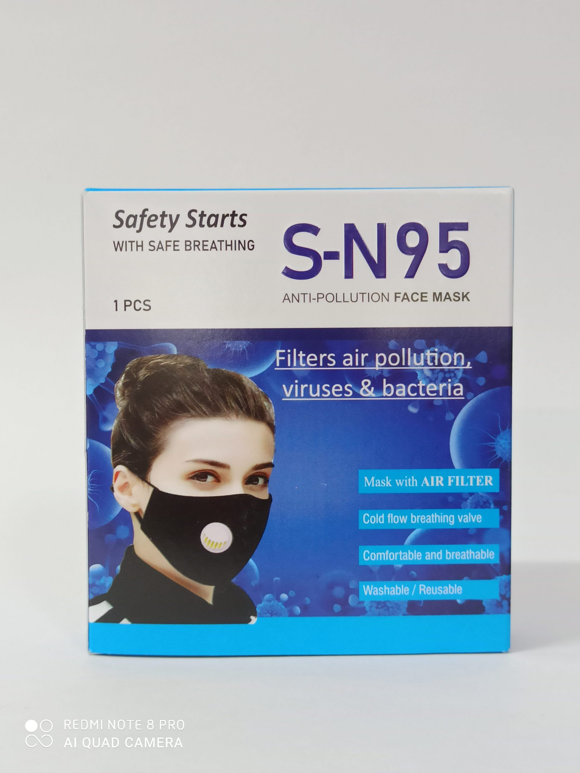 SN95 ANTI POLLUTION FACE MASK