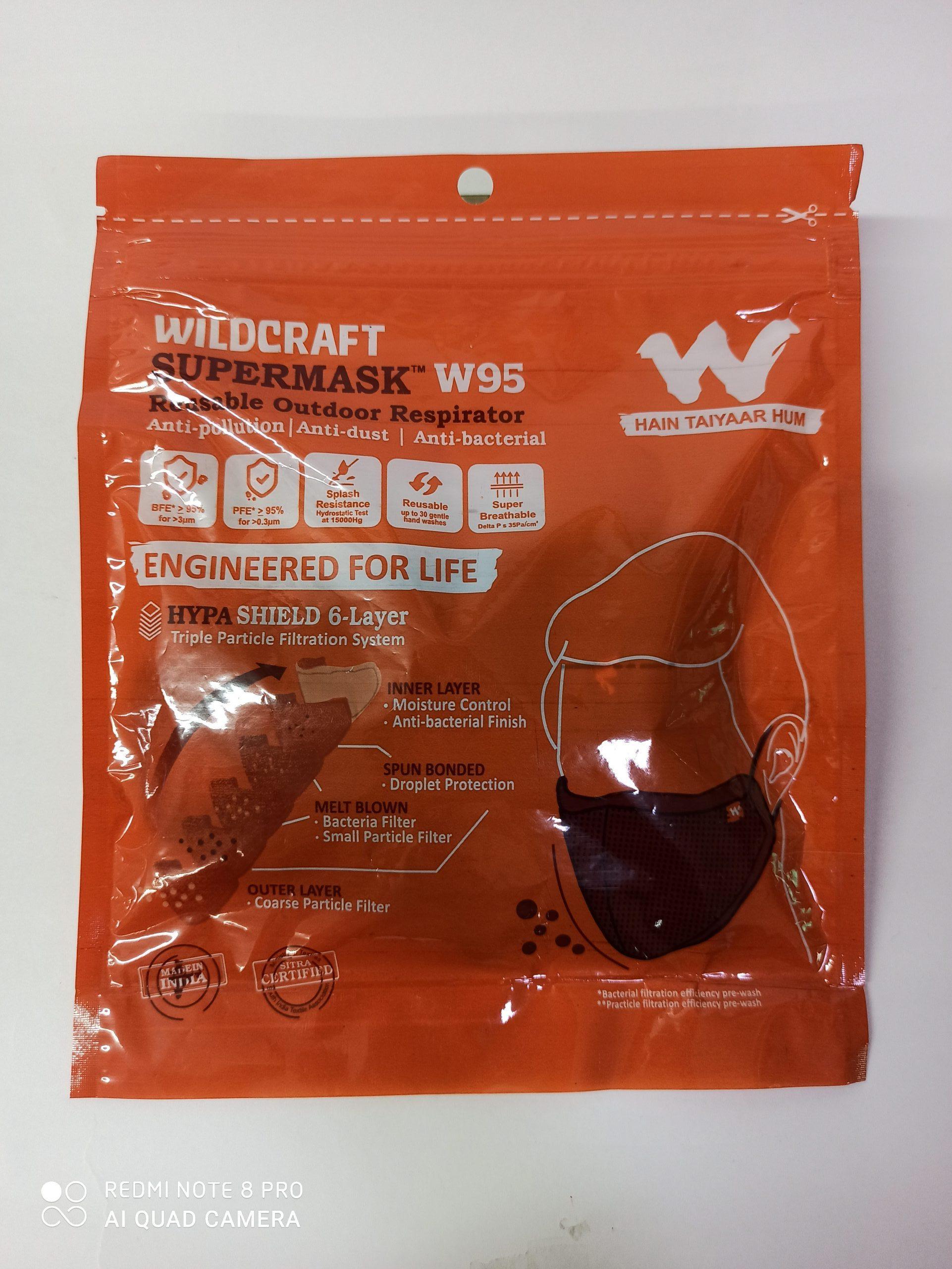 WILDCRAFT SUPER MASK W95 6 LAYER