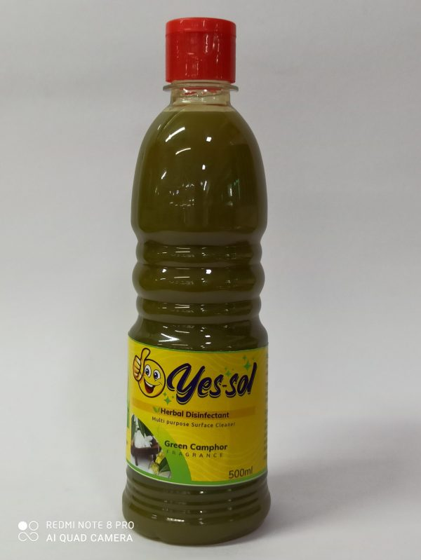 YES SOL HERBAL DISINFECTANT SURFACE CLEANER 500ML