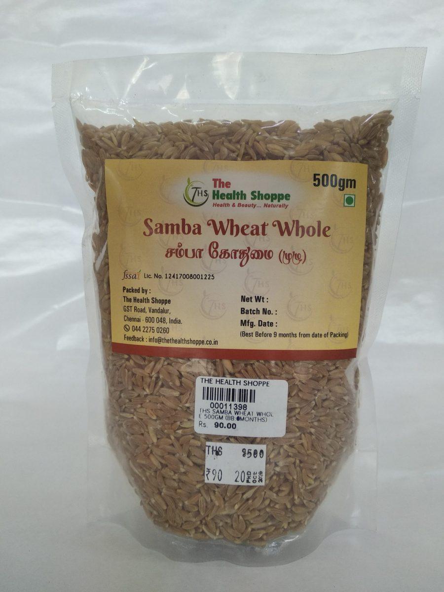 THS SAMBA WHEAT WHOLE 500GM