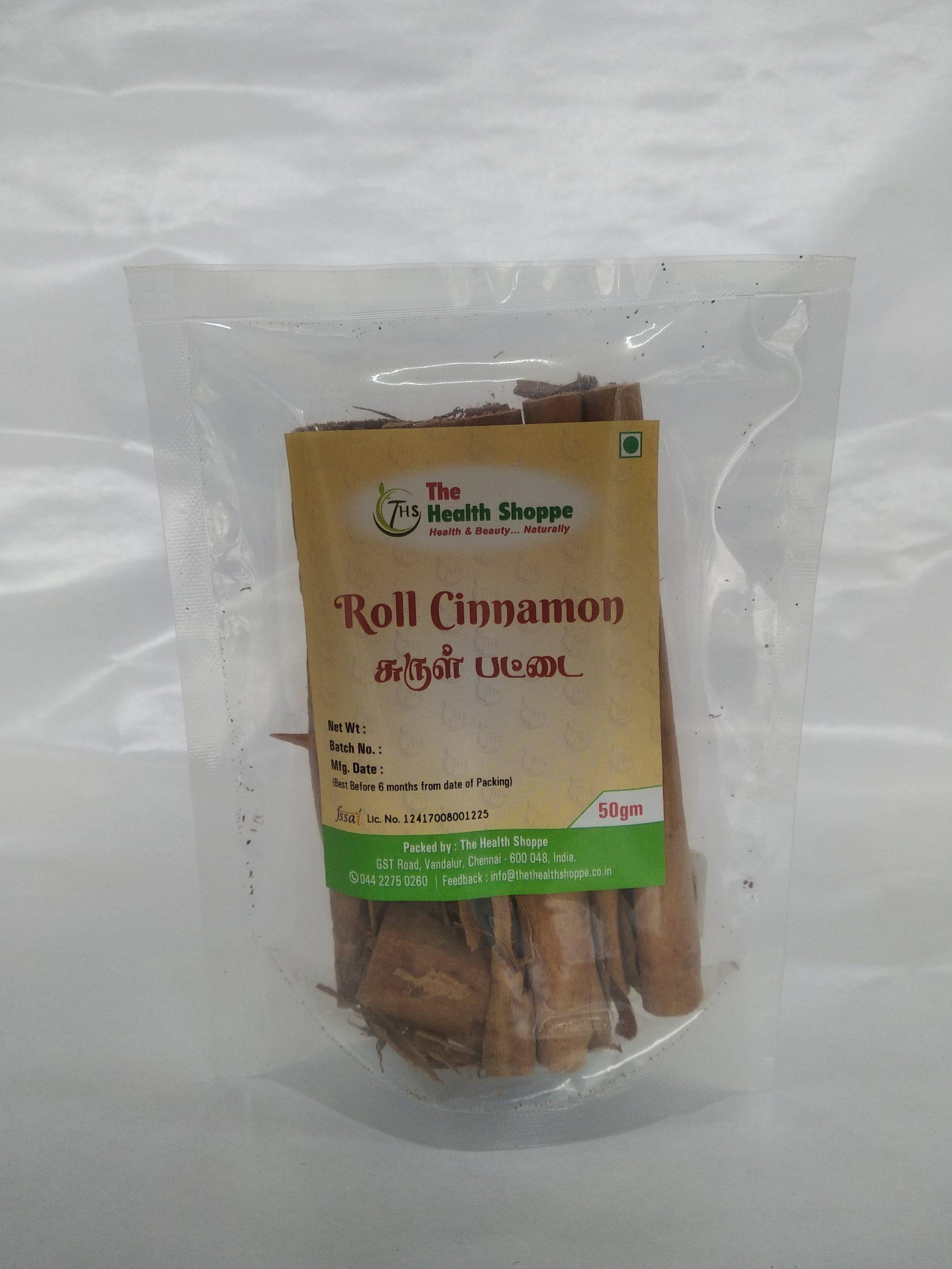 THS ROLL CINNAMON 50GM