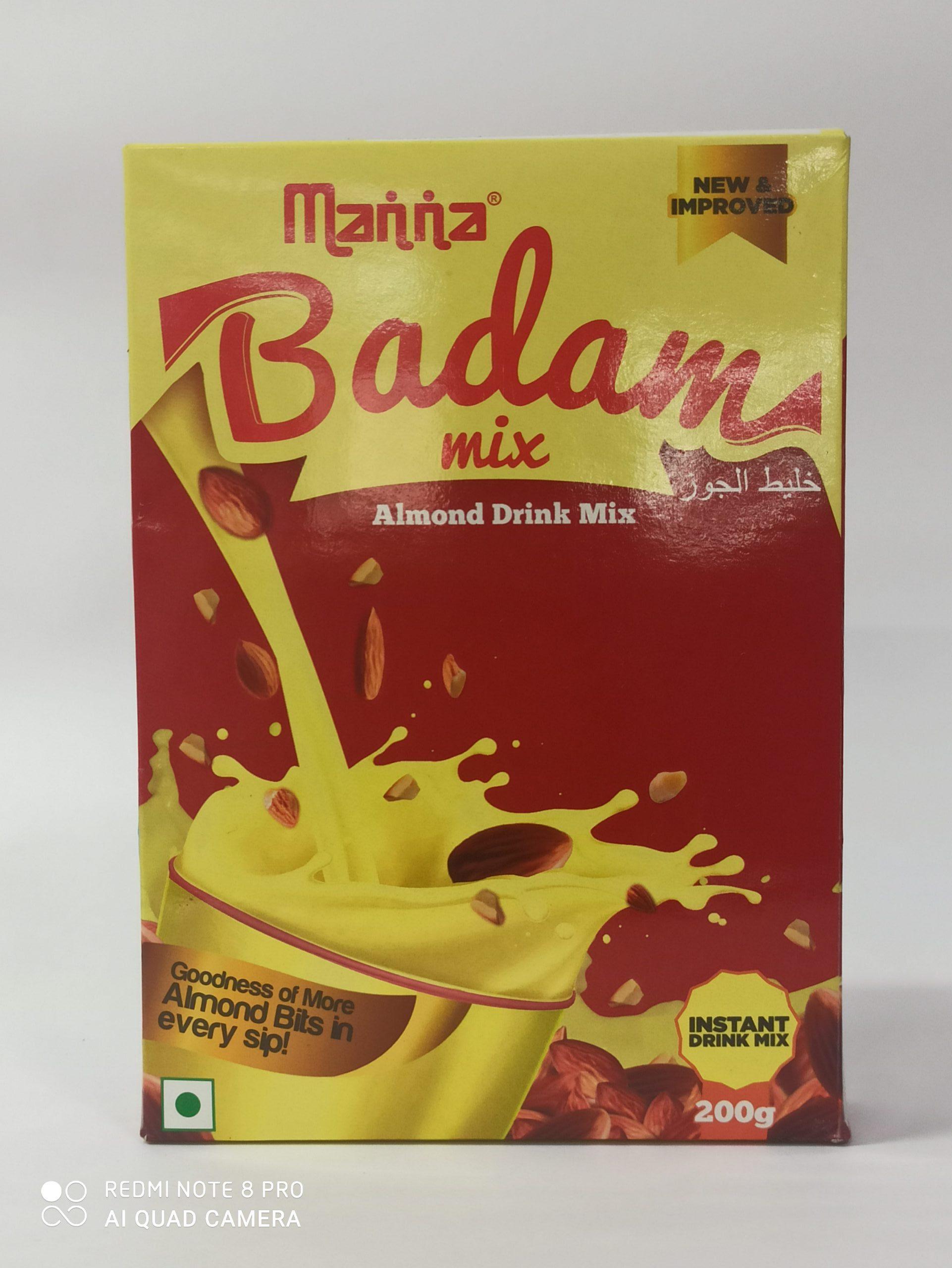 MANNA BADAM DRINK MIX 200GM