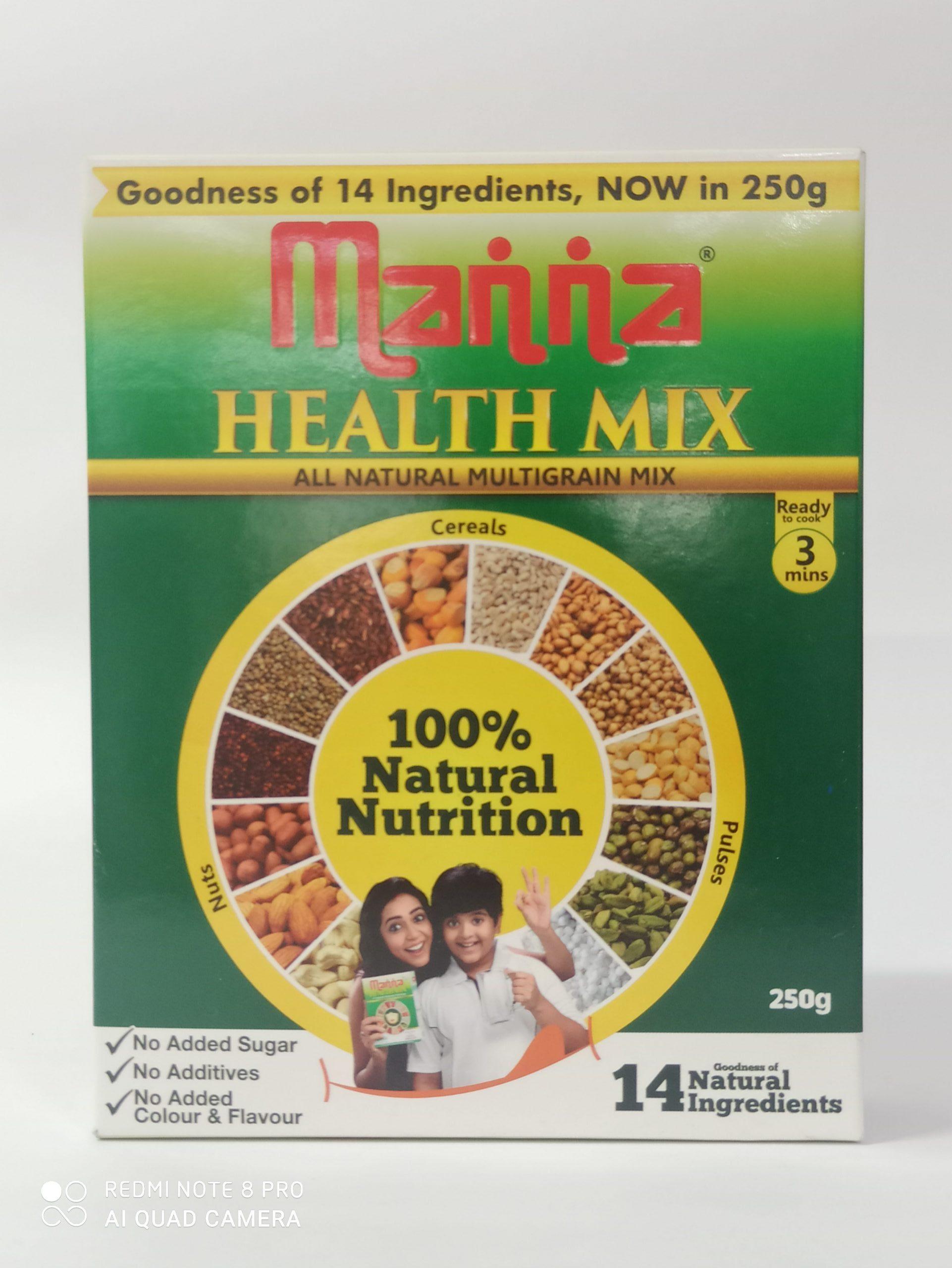 MANNA HEALTH MIX 250GM