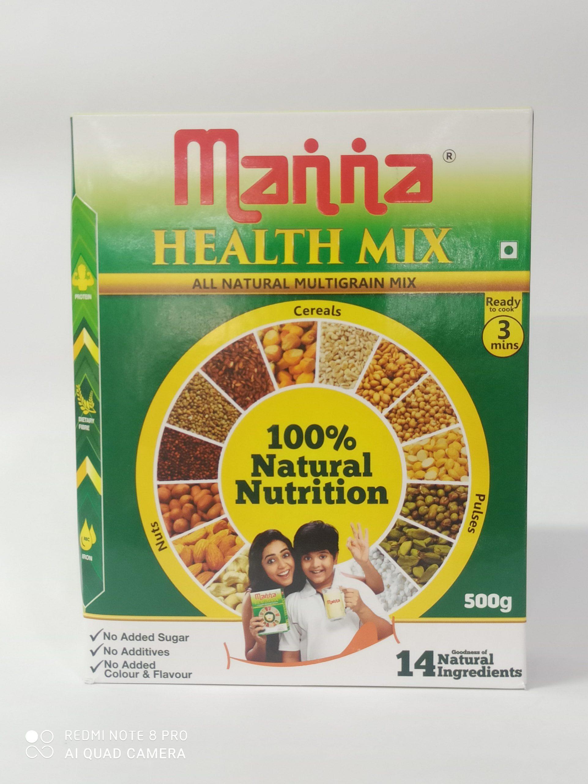 MANNA HEALTH MIX 500GM