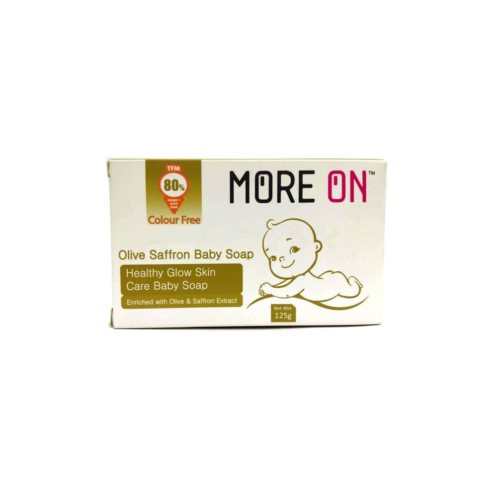 More On Olive Saffron Baby Soap