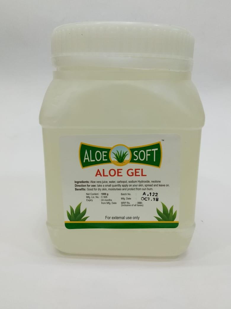 Aloe Soft Alovera Gel - 1000 grams