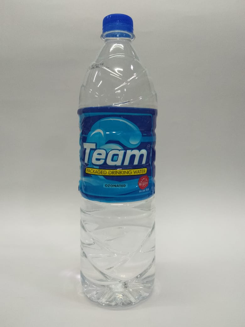 TEAM Packaged Drinking Water - 1 lit