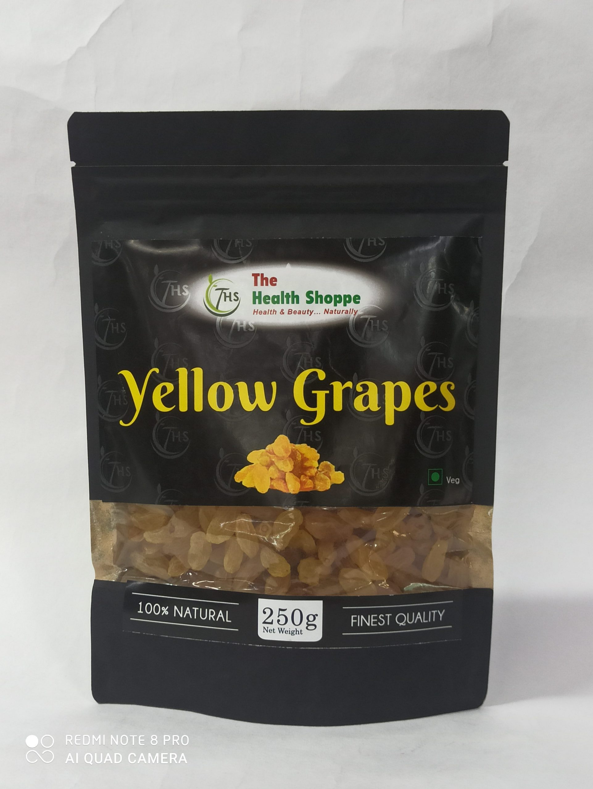 """""""THS""""Yellow Grapes 250gm"""