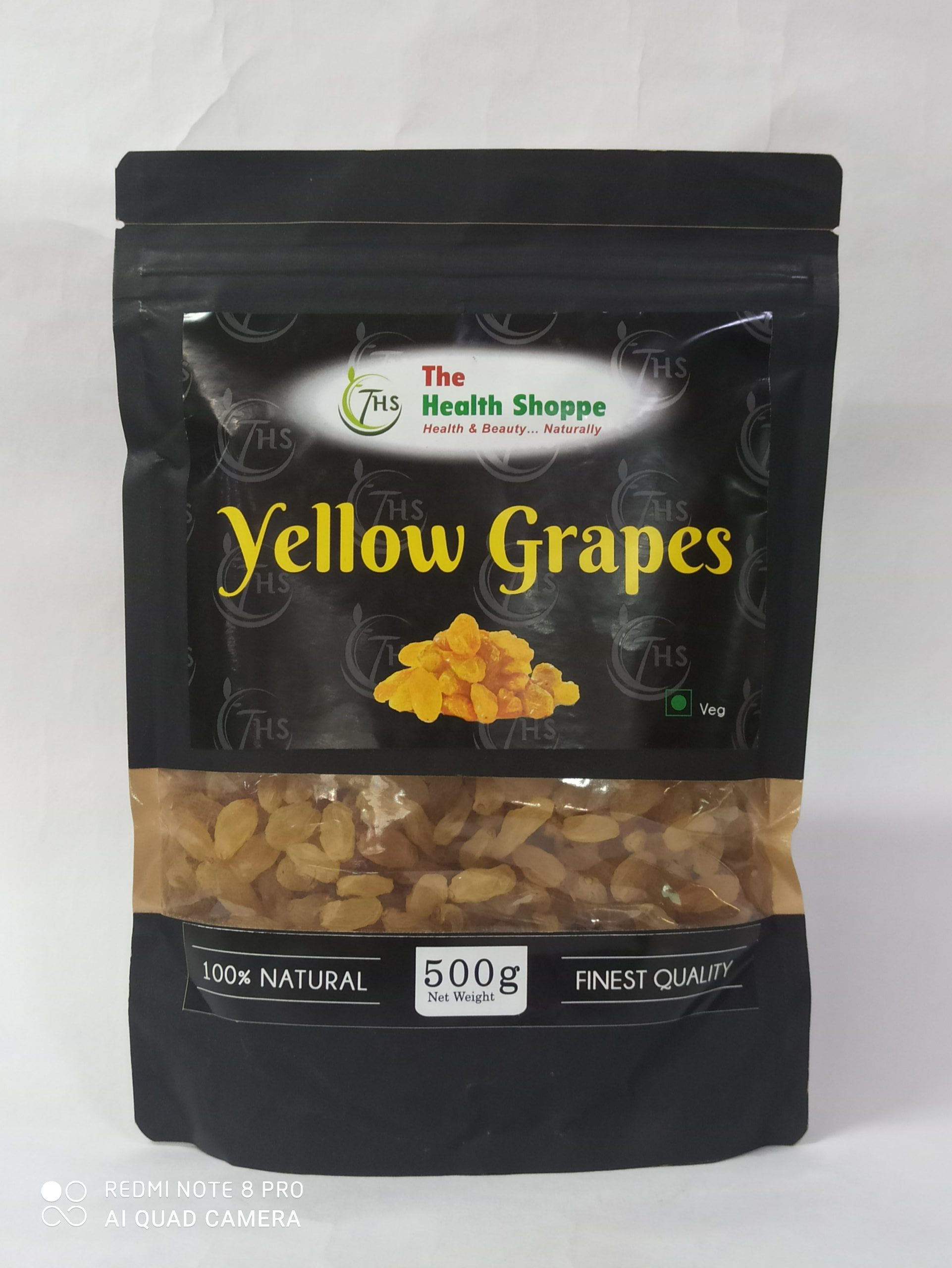 """""""THS""""Yellow Grapes 500gm"""
