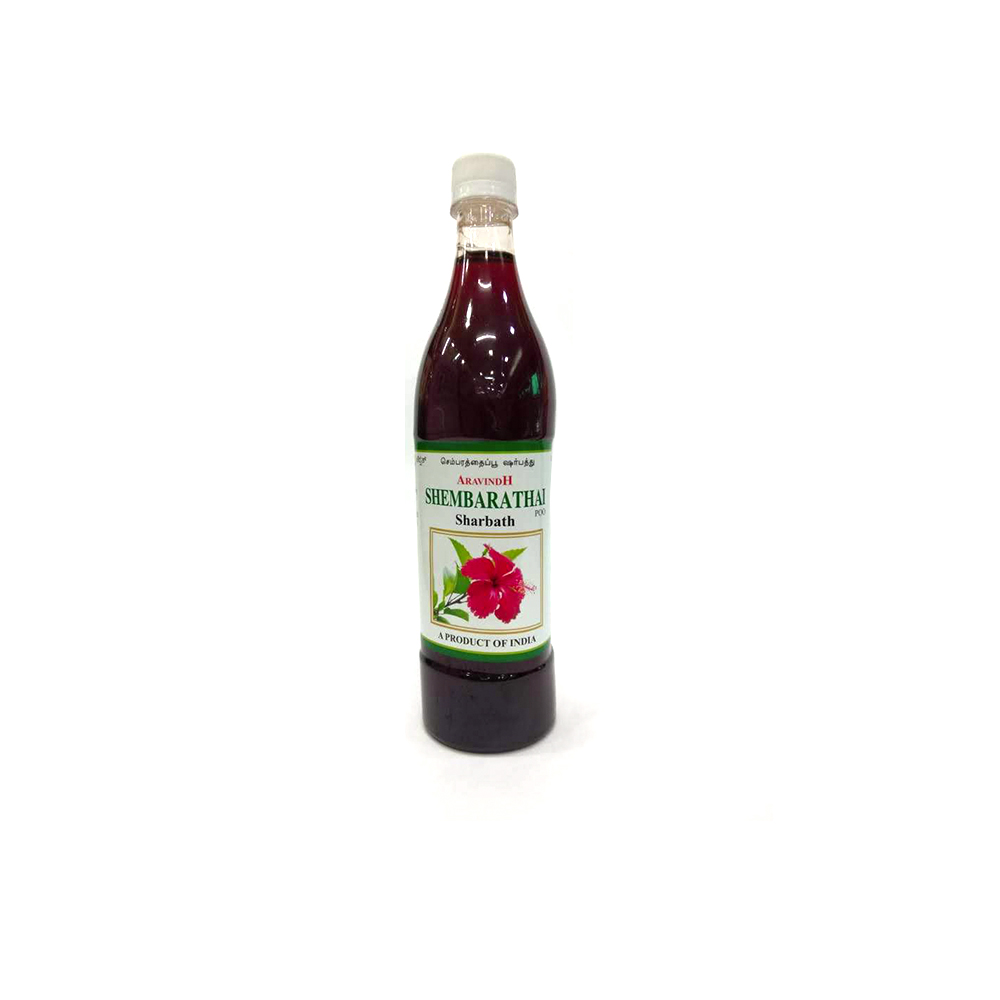 Aravindh Shembarathai Poo Sharbath - 750 ml