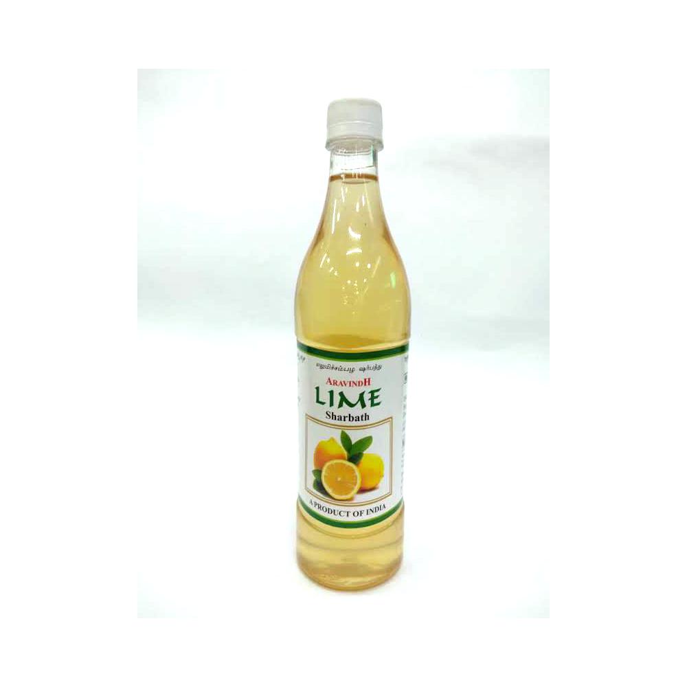 Aravindh Lime Sharbath - 750 ml