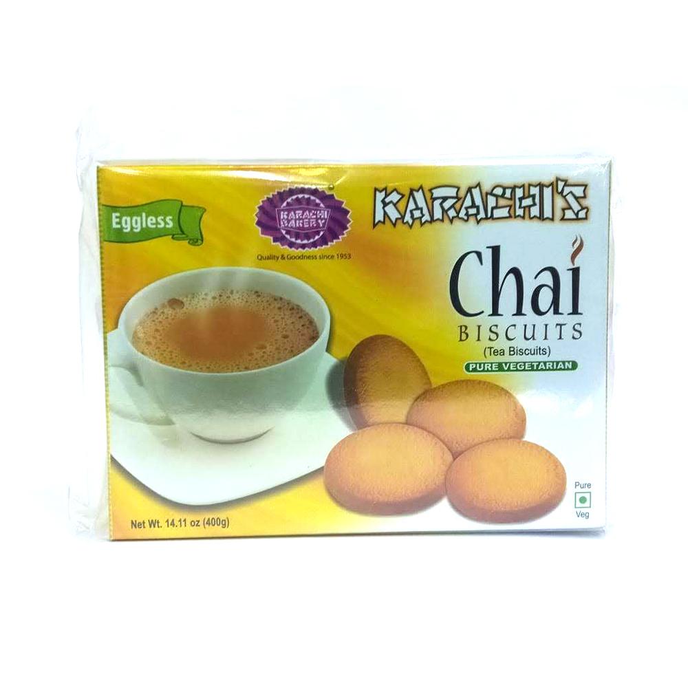 Karachi's Chai Biscuits (Eggless) - 400 grams