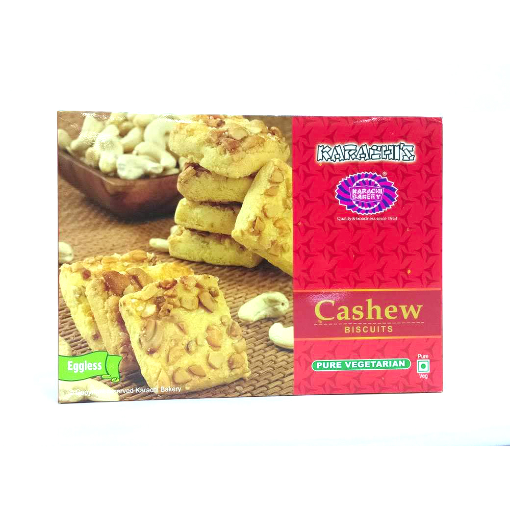 Karachi's Cashew Biscuits (Eggless) - 200 grams