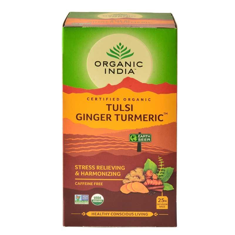 Organic India Tulsi Ginger Turmeric