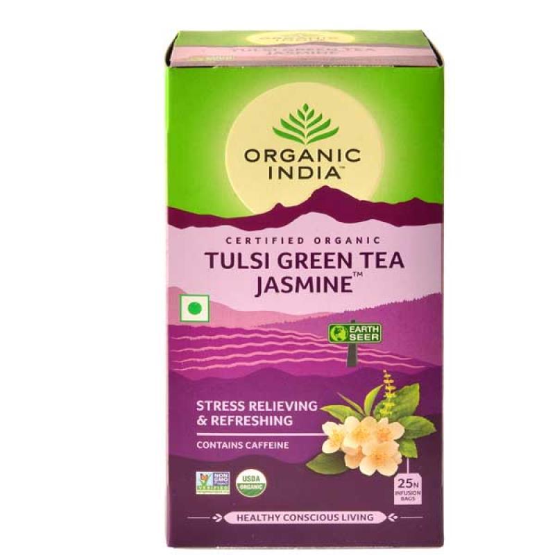 Organic India Green Tea Jasmine