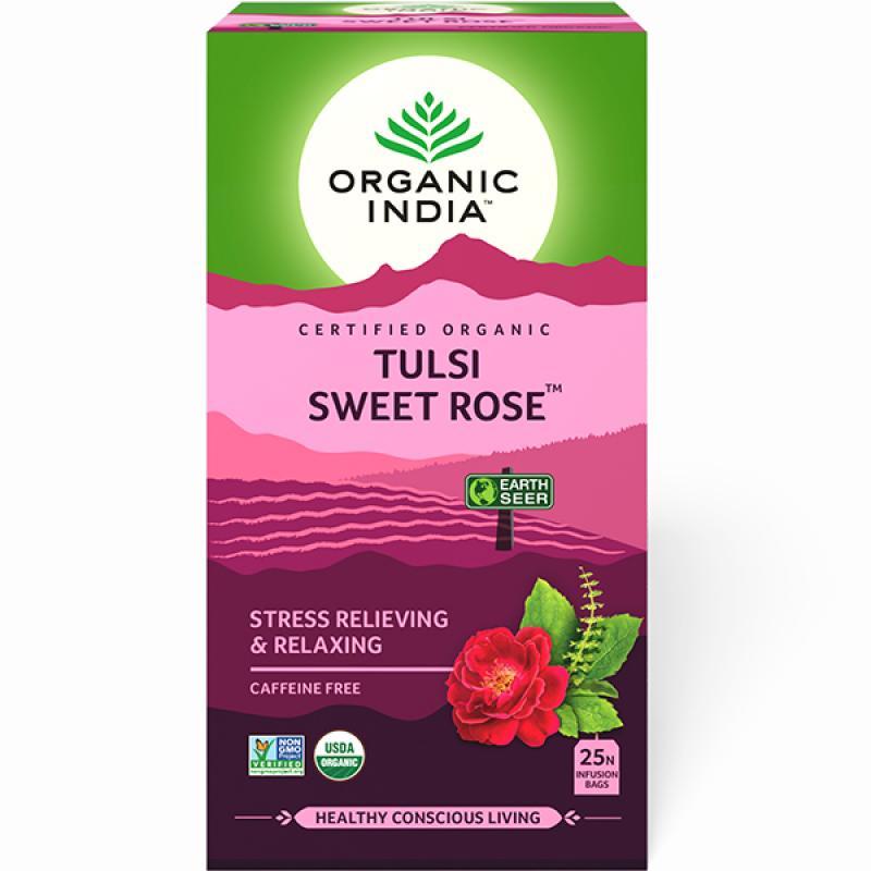Organic India Sweet Rose Tea